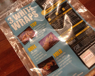 gluten free wrap pack