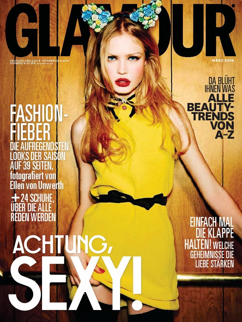 Camilla Forchhammer Christensen HQ Pictures Glamour Germany Magazine Photoshoot March 2014