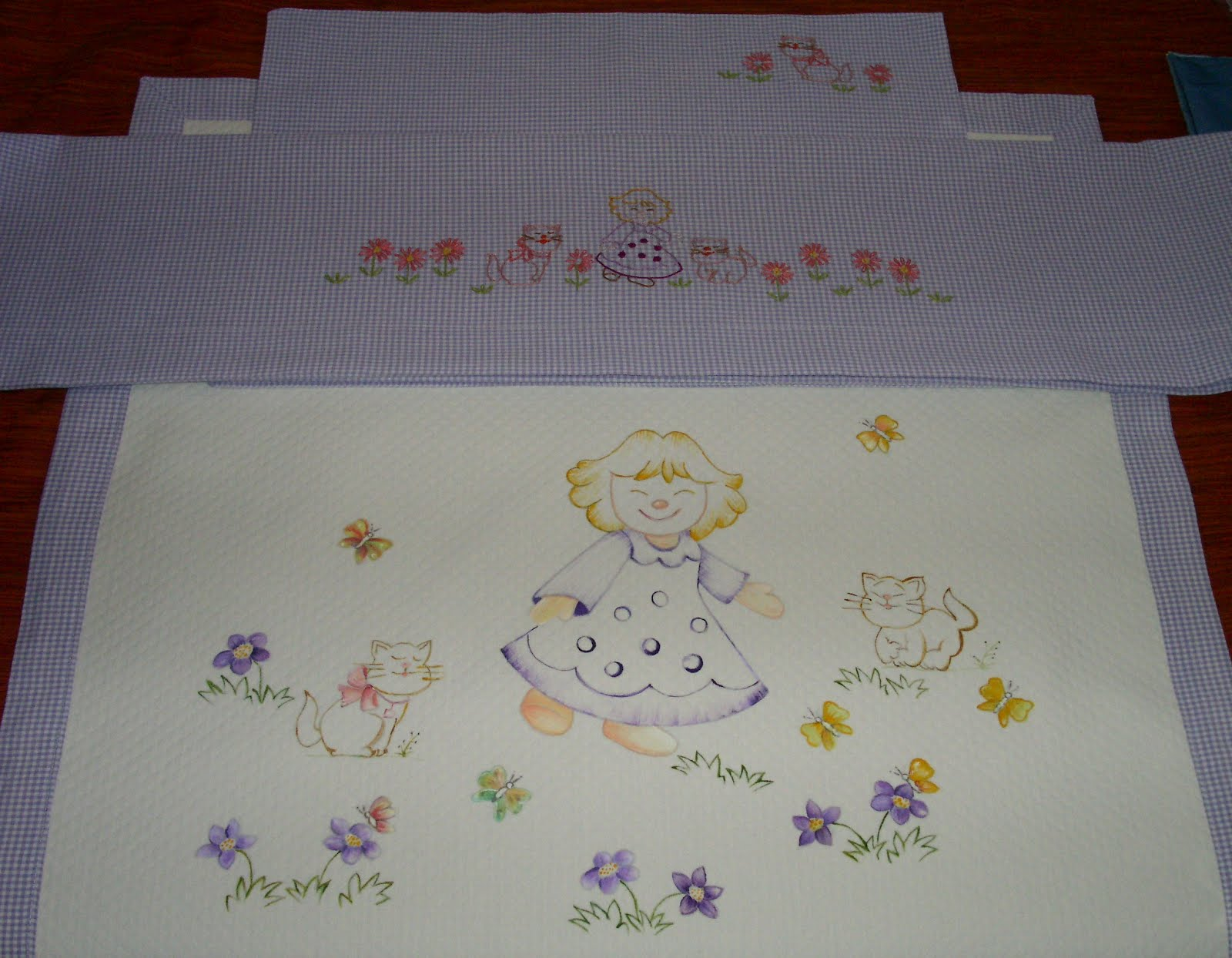 Ricami per copertine neonati
