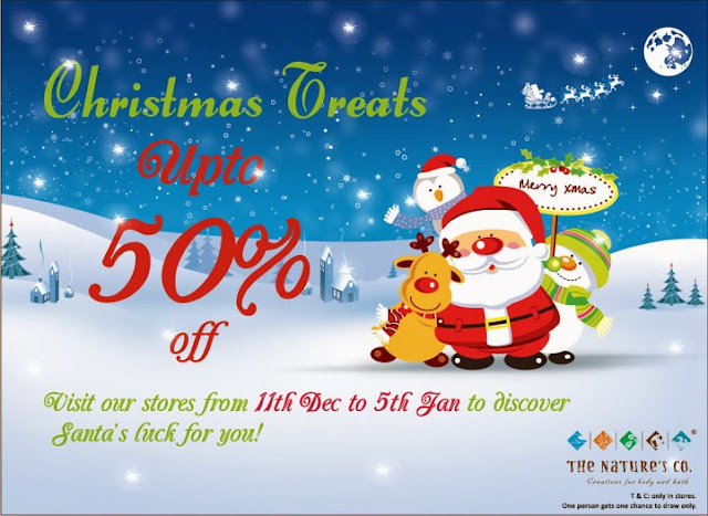 The Nature's Co. Christmas Treats: Upto 50% discount  image