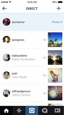"""Instagram for Android and iPhone update brings """"Direct"""" - lets you send a photo or video to a select group of people"""