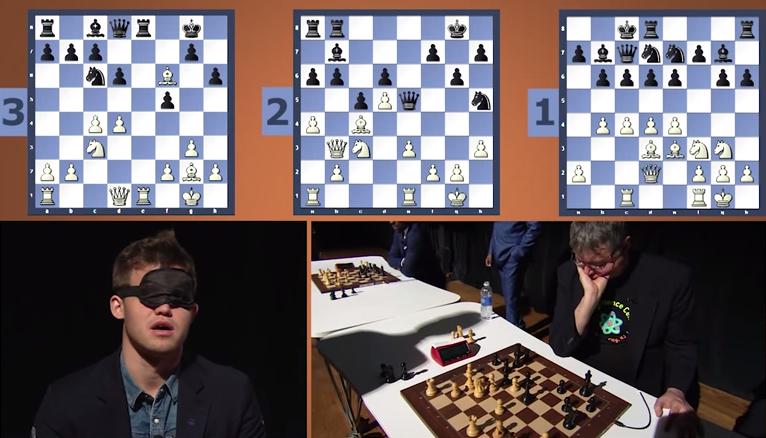 Le jeune norvégien de 24 ans - champion du monde d'échecs en titre depuis qu'il a battu Anand à deux reprises en 2013 et 2014 - a une mémoire phénoménale et un pouvoir de concentration hors-norme © Chess & Strategy