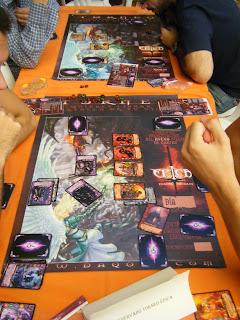 Partidas del torneo de ÉPICA:Edades Oscuras en el Festival de Juegos de Córdoba del 2011