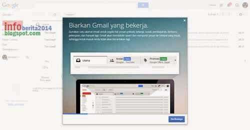 siap mengoperasikan gmail baru