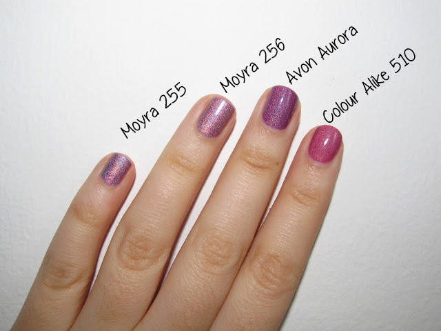 Avon cosmic Aurora Colour Alike 510 Moyra 256 Moyra 255