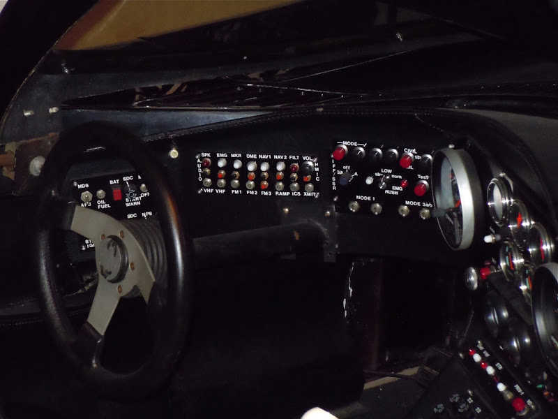 Batmobile dashboard Batman 1989