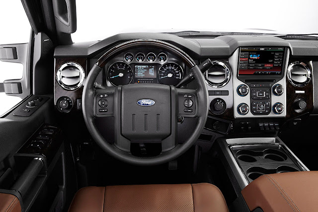 2013 Ford F-Series Super Duty interior