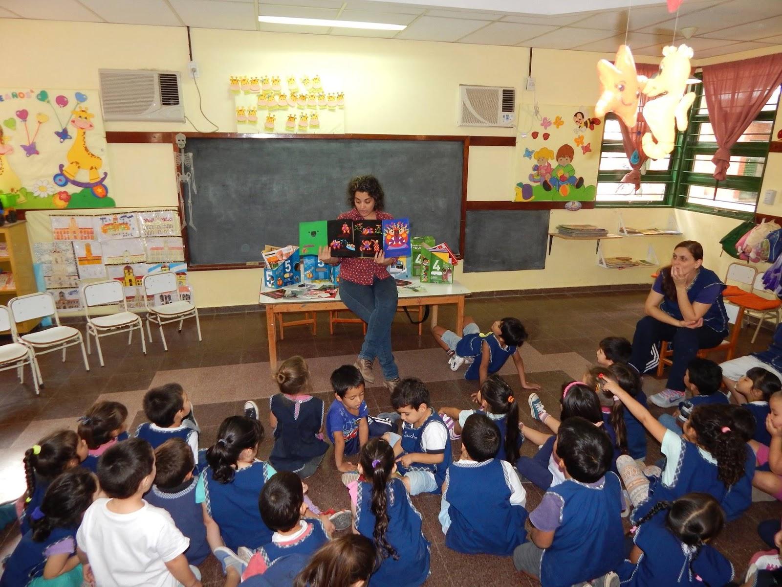 Plan lectura chaco jornada de lectura en el jard n de for Jardin de infantes 2015