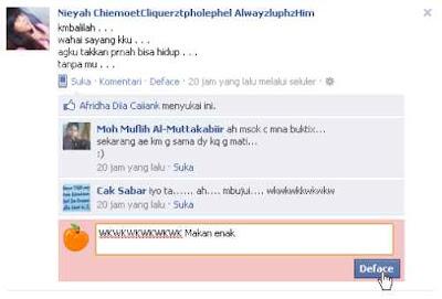 Membuat Komentar Anonim Pada Facebook