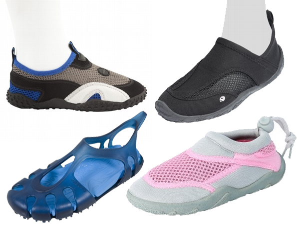 Zapatillas para la playa o piscina - Piscina bebe decathlon ...