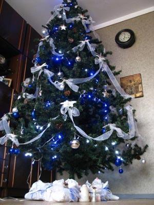 Новогоднее украшение елочка своими руками