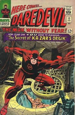 Daredevil #13, Ka-Zar Origin