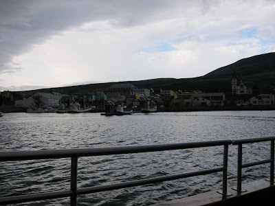 The Husavik dock, Iceland