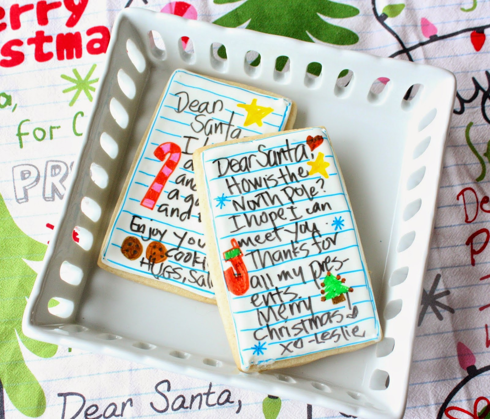 Munchkin Munchies Letters To Santa Cookies