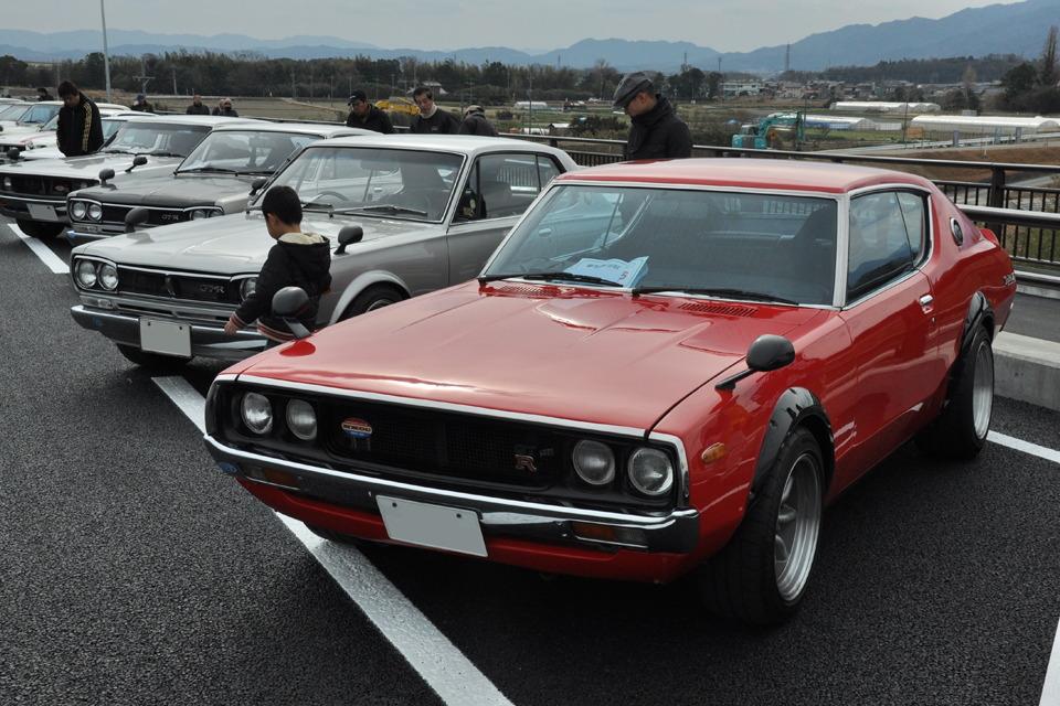 Nissan Skyline stary japoński samochód, klasyk, oldschool, 日本車, クラシックカー