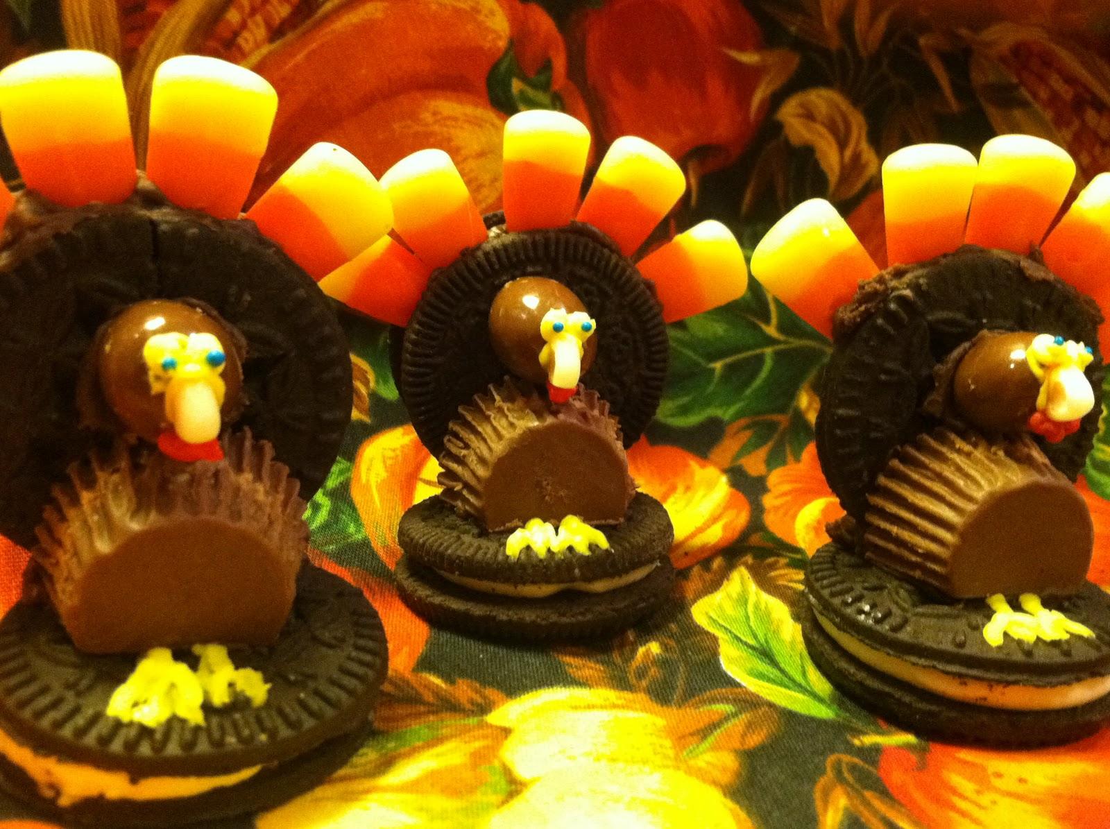 Gluten Free Turkey Cookies- Gobble Gobble!