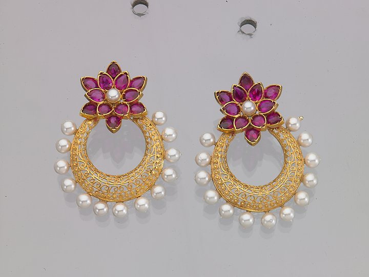 Indian Jewellery And Clothing Elegant Earrings From