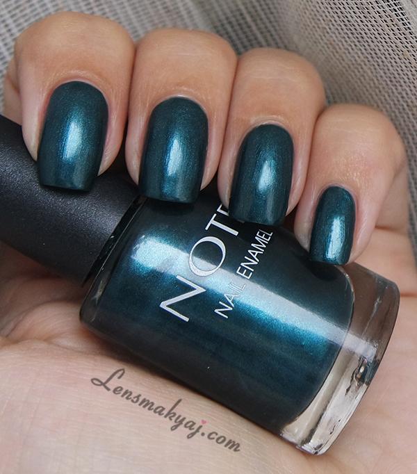Note Cosmetics Oil Green
