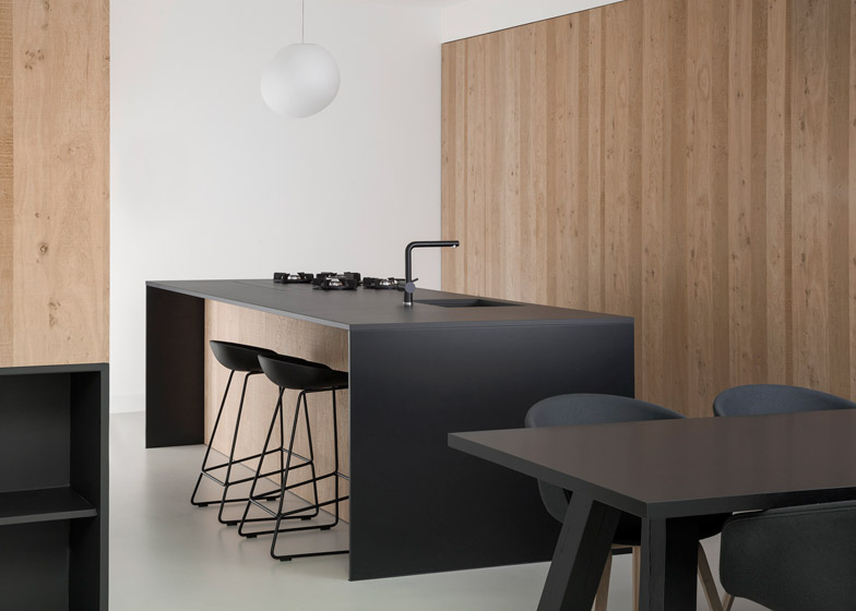 Conversione di un garage in appartamento ad amsterdam by studio ...
