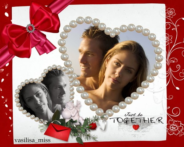 Frame for Valentine's Day - Happiness be together