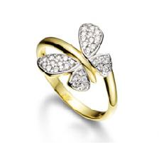 anel folheado ouro