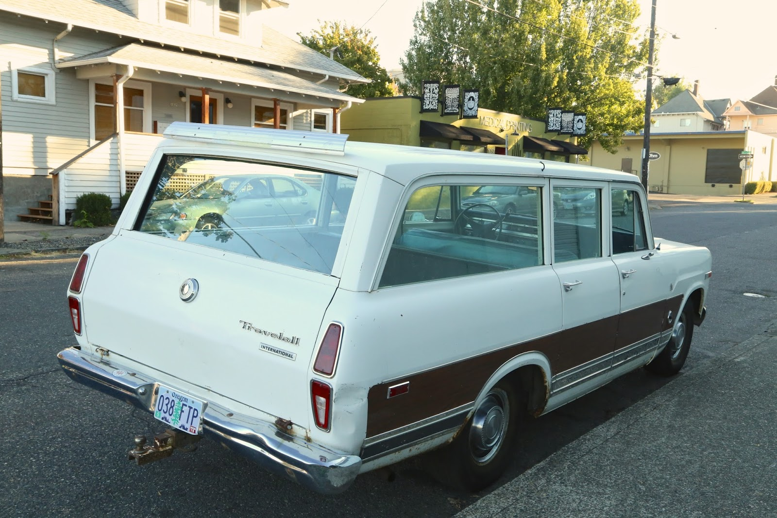 1972 International Harvester Travelall.