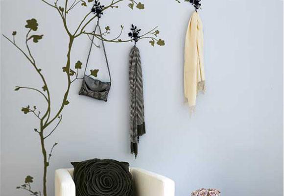 Decoracion actual de moda paredes decoradas con dibujos - Dibujos en paredes ...