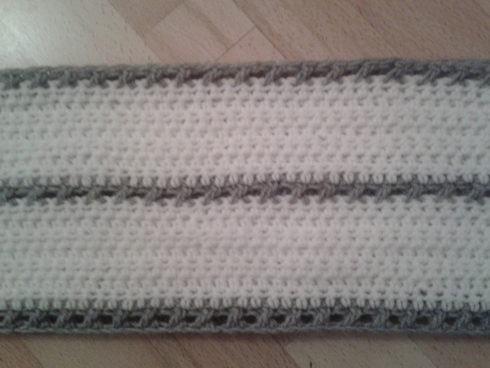 Tejiendo con Google: Bufanda Infinita Crochet