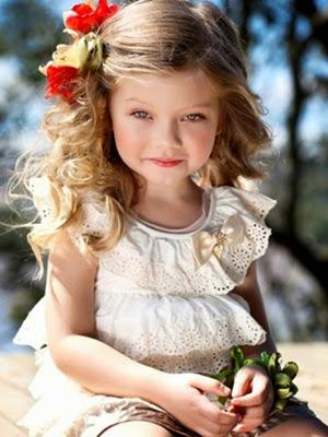 Peinados infantiles look 2014