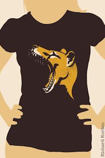 thylacine stencil