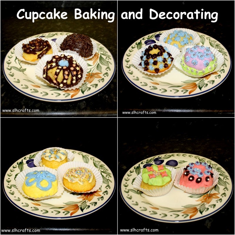 cupcake decorating designs slh crafts