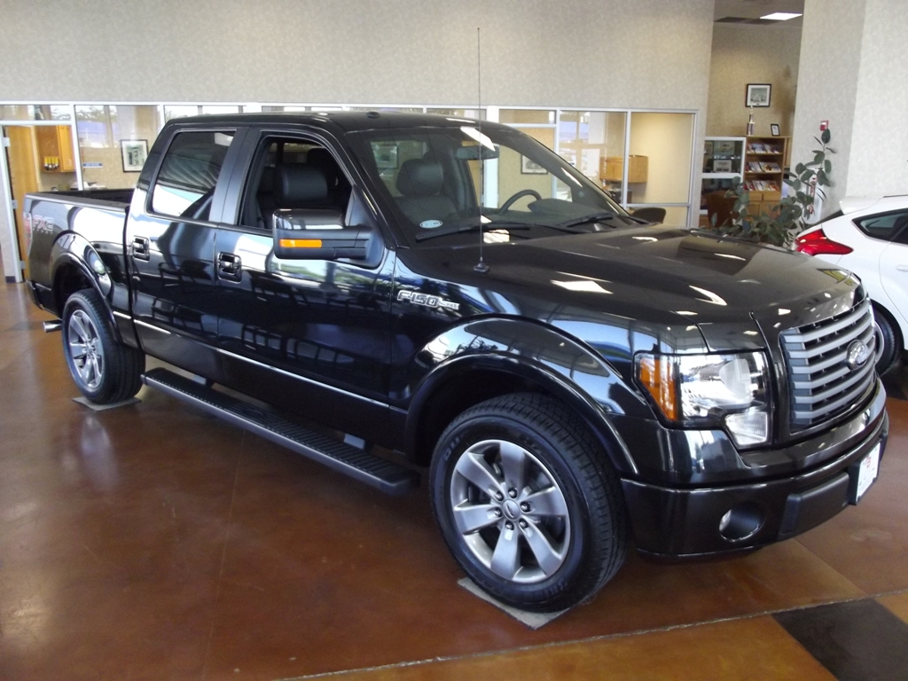 New 2012 Ford F150 FX2 Sport Truck black 117 miles Discounted 9k
