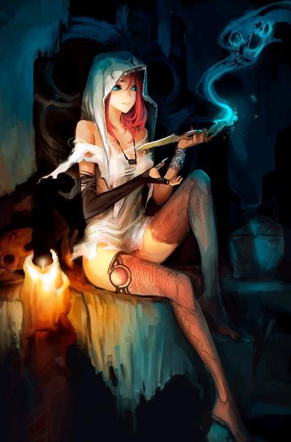 Alice witchcraft very sensual lez scene gr2 9