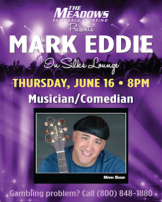 Mark Eddie Music Comic Meadows Pittsburgh