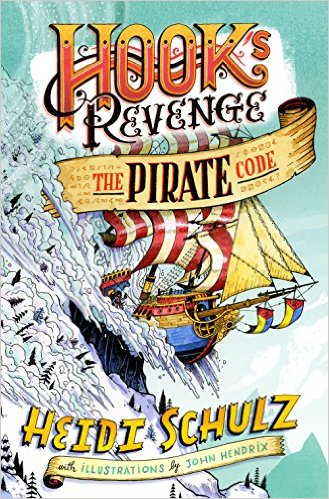 Hook's Revenge, Book 2 The Pirate Code ocver