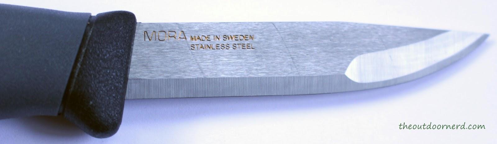 Light My Fire Swedish FireKnife: Closeup Of Blade 1