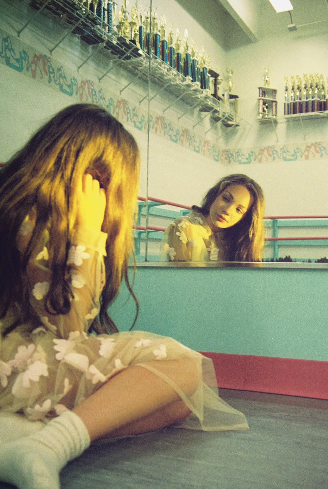 Maddie Ziegler photographed by Petra Collins   quot