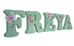 Wooden Wall Letters for Children