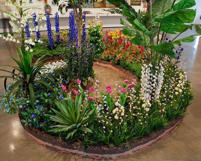 حدائق ليست كالحدائق بدلاً الزهور