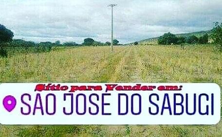 Sítio para vender em São José do Sabugi