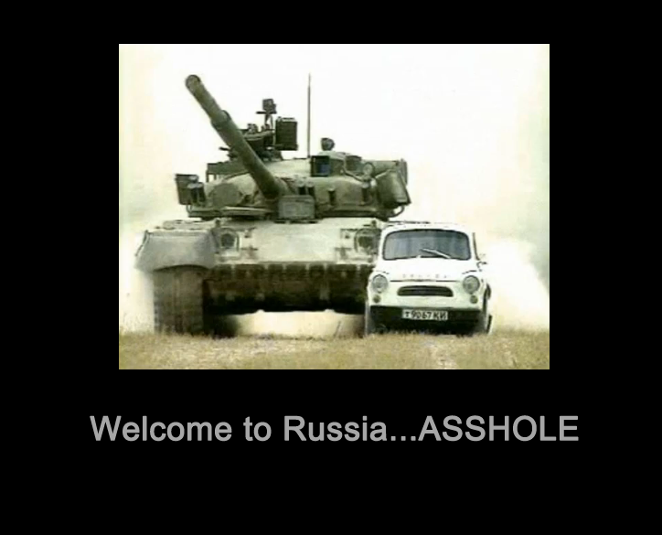Welcome to Russia