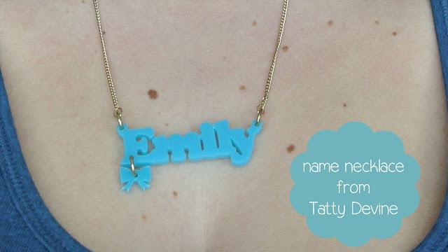 necklace tatty devine