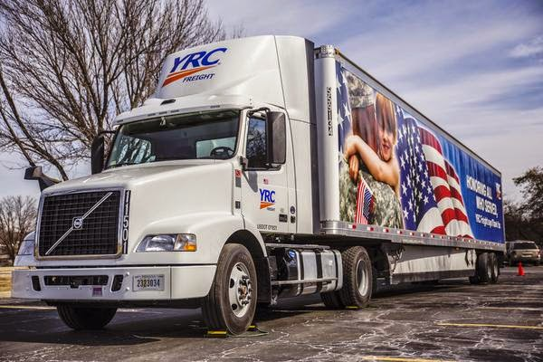 Yrc worldwide inc is revamping its vehicle fleet in 2015 by adding
