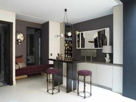 M ydeas decoration d 39 interieur un appartement parisien for Deco interieur epure