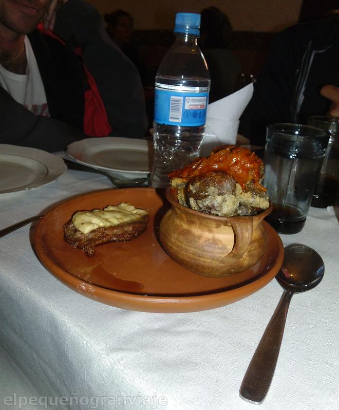 waka zapato, comida, bolivia