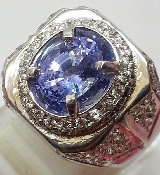 Batu Cincin Natural Tanzanite Gemstones