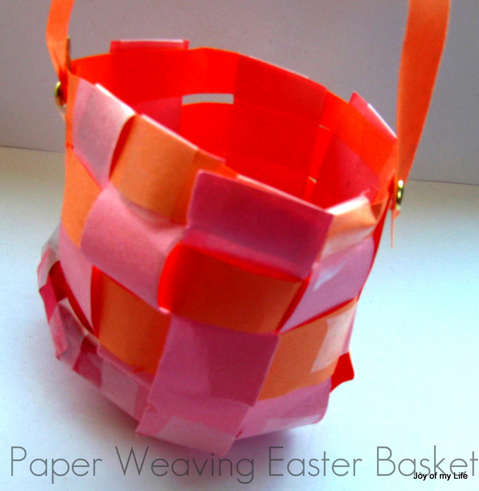 How To Weave A Basket Using Construction Paper : The joy of my life and other things february