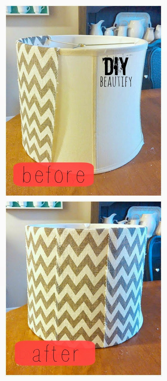 DIY beautify blog Quick Lamp Update