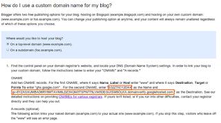 cname custom domain