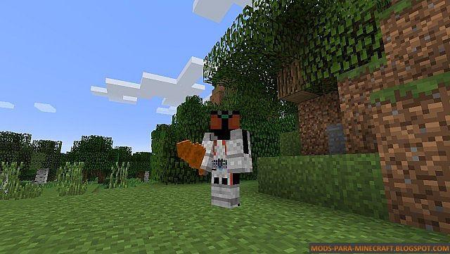 Kamen Raider en Minecraft
